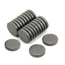 50X Ferrite Disc Magnets 20mm x 3mm   DIY craft fridge magnets school office