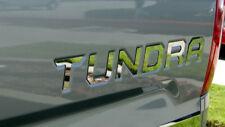 2014-2018 Toyota Tundra Tailgate Letter Insert Trim Molding Decal 6Pc Sticker