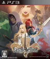 Used PS3 Last Rebellion SONY PLAYSTATION 3 JAPAN JAPANESE IMPORT