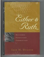 Esther and Ruth by Iain M. Duguid Hardcover Book Reformed Expository Commentary