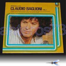 """CLAUDIO BAGLIONI """"PERSONALE DI VOL.2"""" RARO LP LINEATRE - SIGILLATO"""