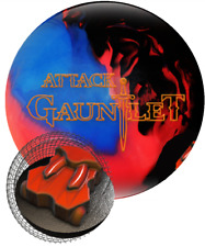 New 15lb Hammer Gauntlet Attack Blue Red Black RARE OVERSEAS Bowling Ball