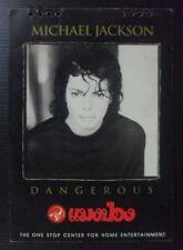 Michael Jackson DANGEROUS WORLD TOUR THAI Vintage! 1994 Calendar EXTREMELY RARE!