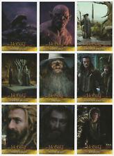 2015 Cryptozoic The Hobbit: The Desolation of Smaug 72 Trading Card Base Set