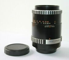 Carl Zeiss Jena Sonnar Zebra 135mm f3.5 Telephoto Lens Pentax M42 Screw Mount.