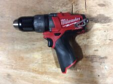 "New Milwaukee M12 FUEL 12-Volt Brushless 1/2"" Hammer Drill Driver # 2404-20 NEW"