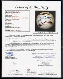 Joe DiMaggio Single Signed OAL Joe Cronin Baseball - JSA and Beckett Full LOA's