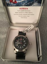 New Wenger Swiss Military Quartz Outback Mens Watch