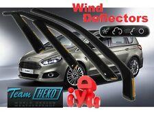 FORD S-MAX II  2016 -  Wind deflectors 4.pc set  HEKO 15318