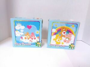 2 Care Bears Rose Art 25 Piece 12x12 Jigsaw Puzzles - Complete - Fast Shipping!