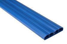 50 Metros Zaunlatten Valla Balkonbretter Valla Plástico PVC Azul PZL-19