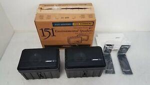 Bose 151 Environmental Outdoor Indoor Speakers - Black