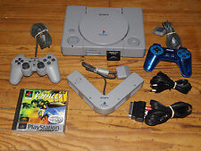 Sony Playstation 1 PS1 Model-No SCPH-9002 + 1 JEUX + CARTE MEMOIRE + MULTITAP
