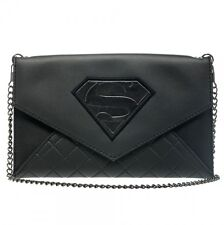 Superman Envelope Wallet with Chain New BIOWORLD