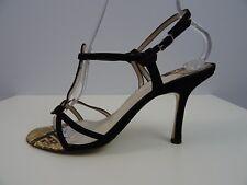 Unützer Damen Schuhe Sandalen Riemchen Python Schlangenleder 40 Sandalette Shoes