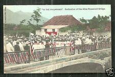 Sorsogon Alice Roosevelt Bridge Bicol Luzon Philippines 1905