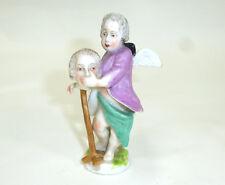Insolite Figurine Meissen (XVIII) Siècle Ange