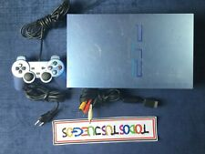 Consola PlayStation 2 + Mando FAT AQUA VERY RARE RARO Ps2  0456