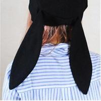 Kawaii Clothing Harajuku Hat Black Rabbit Bunny Ears Beanie Beret Q