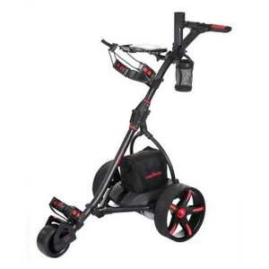 Caddymatic V2 Electric Golf Trolley / Cart with Upgraded 18 Hole Battery