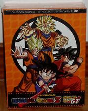 DRAGON BALL-DRAGON BALL Z LAS PELÍCULAS COLECCIÓN COMPLETA 15 DVD (SIN ABRIR)