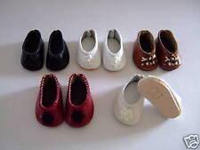 CHAUSSURES en CUIR pour poupée LOULOTTE® -Leather shoes-  LOT de 3 paires -20%