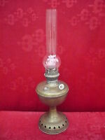 Bella, vecchio Petroliumlampe __ IN Ottone ___
