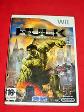 L'Incroyable Hulk Le Jeu Vidéo Officiel - Jeu WII Compatible WIIU Complet