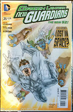 Green Lantern New Guardians #25 VF NM- 1 º Dibujo DC Comics