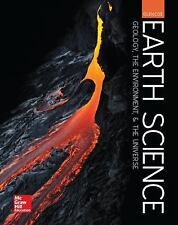Earth Science Geology, The Environment & The Universe Glencoe Student Edition