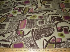 "~2 YDS ""MODERN RETRO EAMES ERA""~WOVEN UPHOLSTERY FABRIC~FABRIC FOR LESS~"