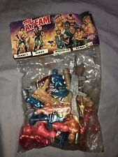 Vintage A-Team Baracus Chuck Norris Sylvester Stallone Cobra Mini Figure Set