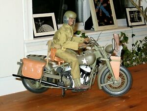 *** ULTIMATE SOLDIER 1:6 WWII U.S.ARMY DISPATCH RIDER & MOTORCYCLE ***