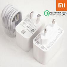 Original QC3.0 27W Super Quick Charger & USB-C Cable For Xiaomi Mi 9 Pro Mi 8 SE