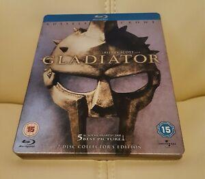 Gladiator Blu-ray Steelbook & Cards