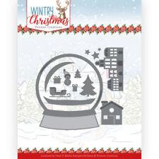 Stanz-schablone cutting die Christmas Schneekugel Globe Yvonne Creation YCD10247