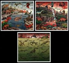 Guyana 1996 - Mi-Nr. 5447-5482 ** - MNH - Prähistorische Tiere