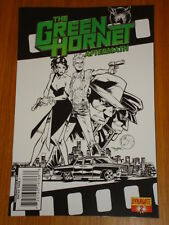 GREEN HORNET AFTERMATH VOL 1 #2 RI BLACK AND WHITE COVER DYNAMITE NIGEL RAYNOR