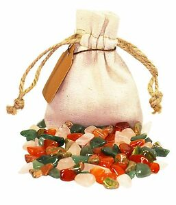 Love Power Pouch Healing Crystals Stones Set Tumbled Natural Romance Gemstones