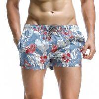 SEOBEAN New men swimwear shorts casual summer beach pants Board Shorts