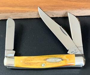 Case XX USA 10 Dot 1970 5392 Premium Stock Knife Genuine Stag Unused Near Mint
