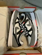 Nike Air span II 2 Men's Shoes Black/Dust-Solar Red/White AH8047 005 Size 11