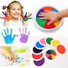 Learning Hand Print Cardmaking Ink Pad Stamp Drawing Toys Finger Painting