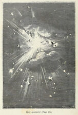 Jules Verne Around the Moon 1870 illustration by EA Bayard 7x5 Inch - Reprint 11