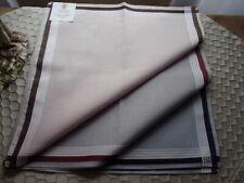 6 mouchoirs homme 100% coton tissées n°320