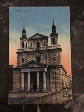 1917 Lublin Poland Picture Postcard Censored Cover to