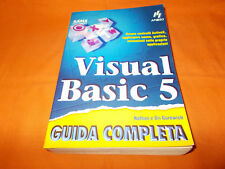 visual basic 5 guida completo apogeo 1997