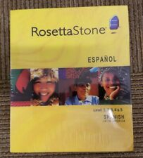 Rosetta Stone 3 Spanish (Latin America) Level 1, 2, 3, 4 & 5 for PC / Mac - NEW