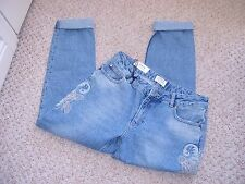 "MISS SELFRIDGE ~ ""Kitty"" Slim Boyfriend Jeans Size 10 BNWTS"