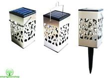 POWERplus Ferret 3 in 1 Stainless Steel Solar Candle Light